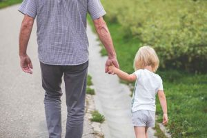 Father-holding-hand